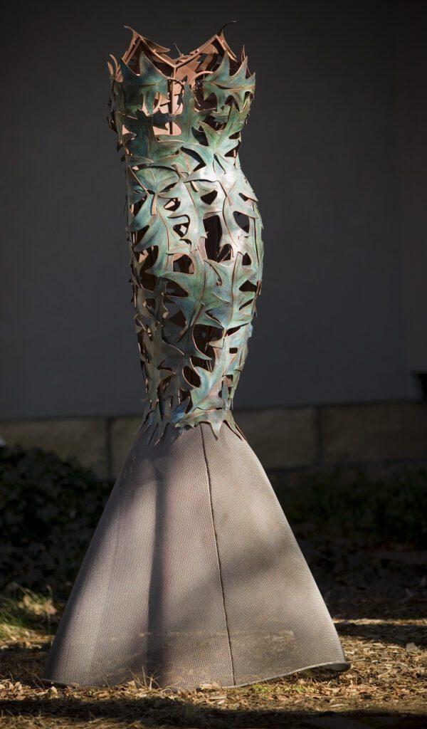 Leaf Dress bt Arabella Tattershall