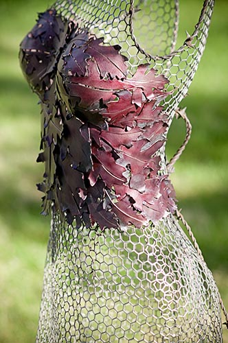 Leaf Dress by Arabella Tattershall